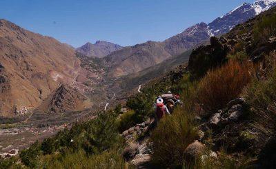Atlas mountains trekking - Day Trek To Imlil Valley - Berber Villages trek
