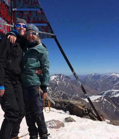 Mount Toubkal Winter