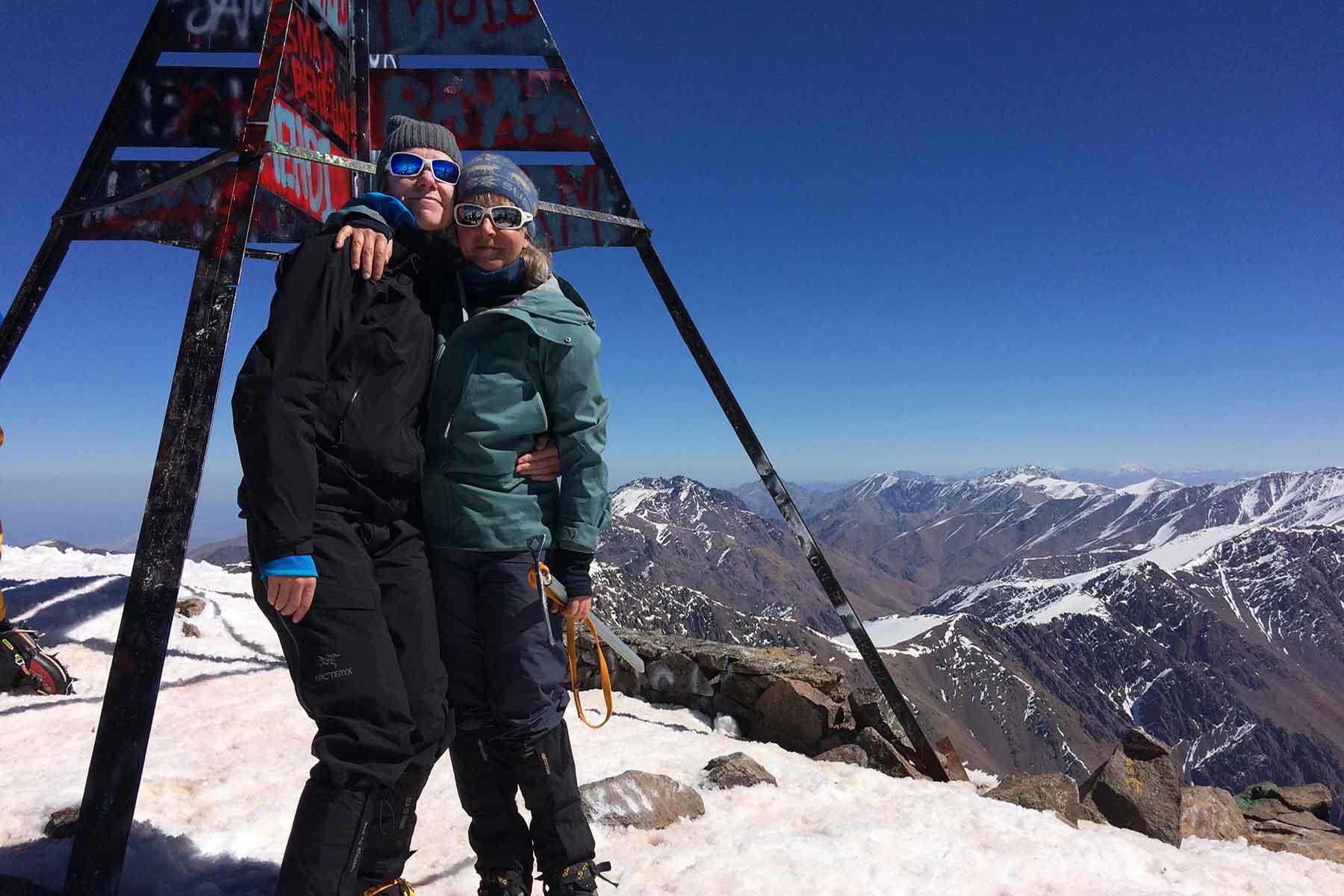 Mount Toubkal Winter